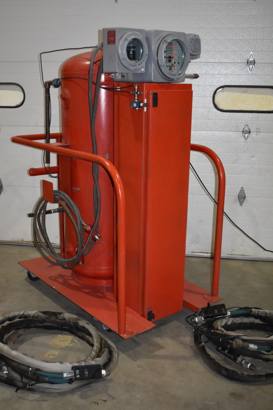 Fire suppression system, Ultra High Speed Deluge, Portable, CVD Corp