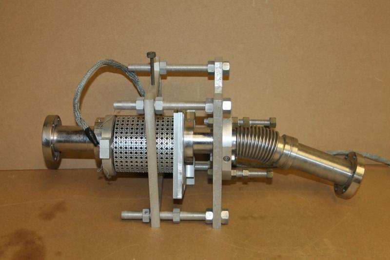 Vacuum heater, Bakeout, Flex extension, 2.75