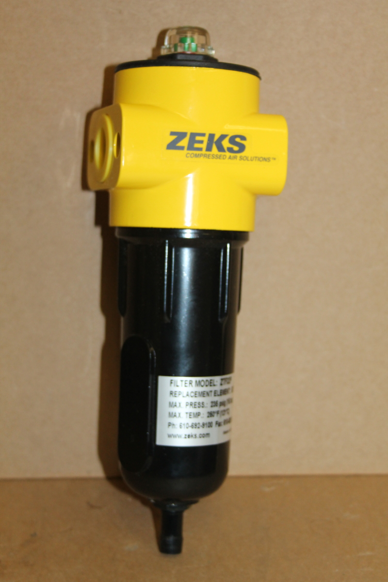 Compressed air filter, 1/2