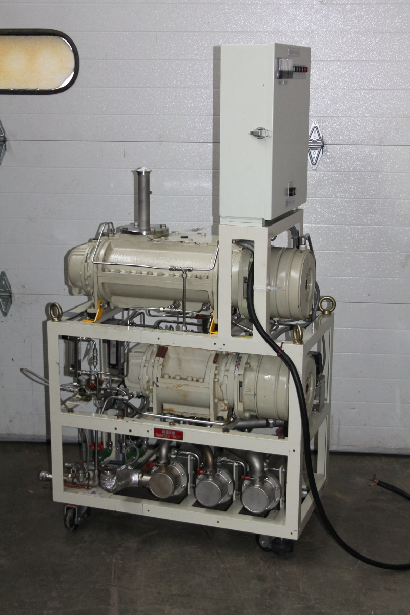 Multi stage dry vacuum pump Ebara 80x25 TESTED