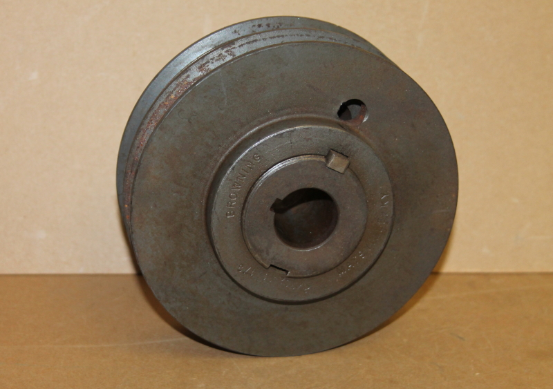 Variable pitch pulley, 2 belt, 1 1/8