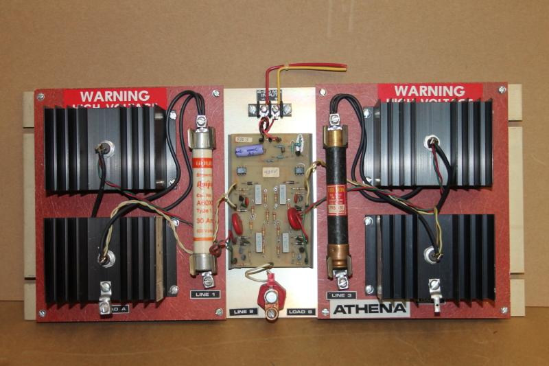 SCR temperature controller, 4-2-mA, 30A, 480V, 93Z-48030-A0, Athena