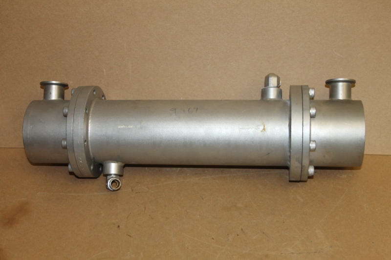 Heat exchanger, Tube & shell, SS, 17.5