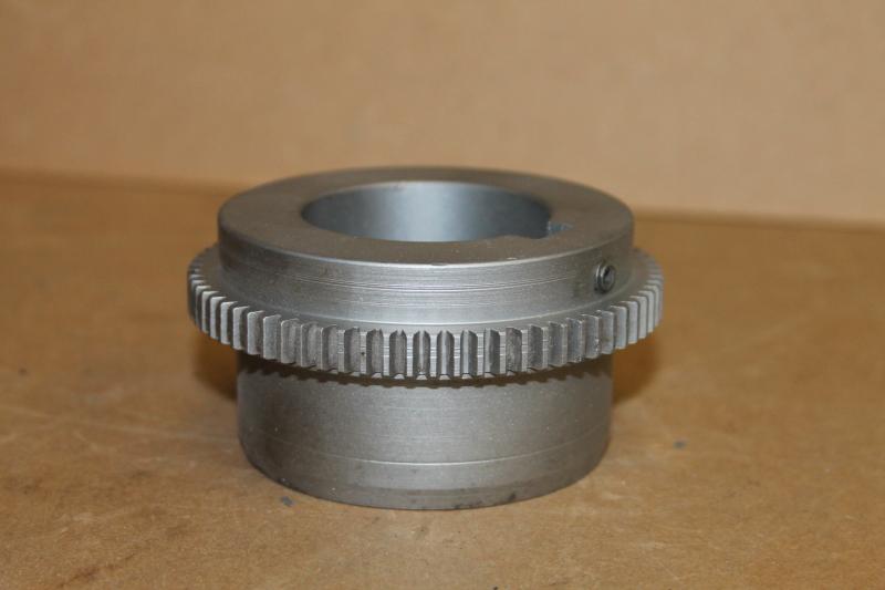 Gear coupling hub, 1 7/8