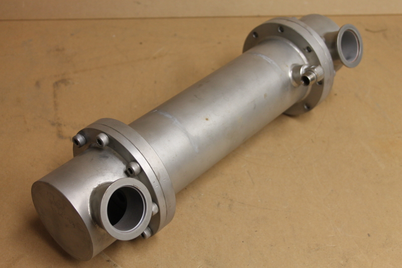 Heat exchanger, Tube and shell, SS, 17.5