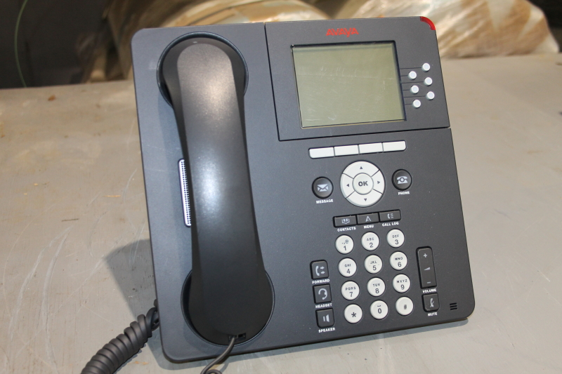 Avaya 9630G IP Phone, Black, Handset, Stand, PoE