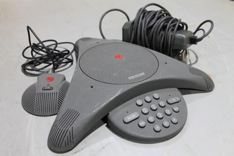 Polycom Soundstation EX Analog Conference Phone, 2201-03309-001