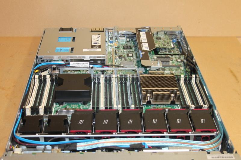 HP Proliant DL360p G8, Six Core Intel E5-2630 @ 2.3GHz, 15MB Cache, No HDD