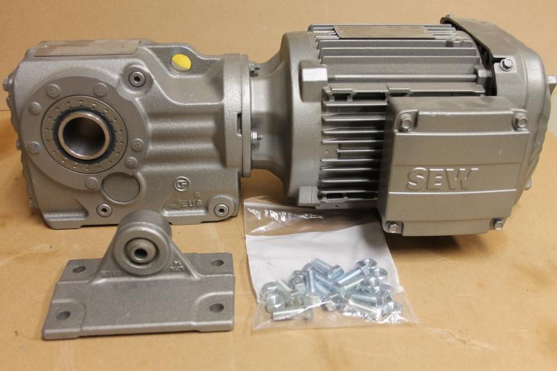 Sew-Eurodrive KT37/T DRN90S4/DH, Helical-bevel Gearmotor
