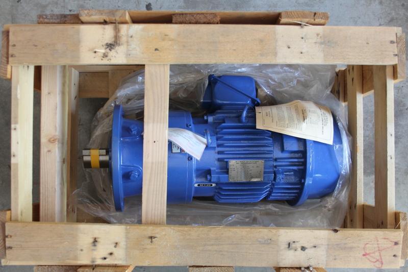 Sumitomo Cyclo 4000 Gear Motor, 3HP, 3 phase, CVVMS3-4135Y, Jetway