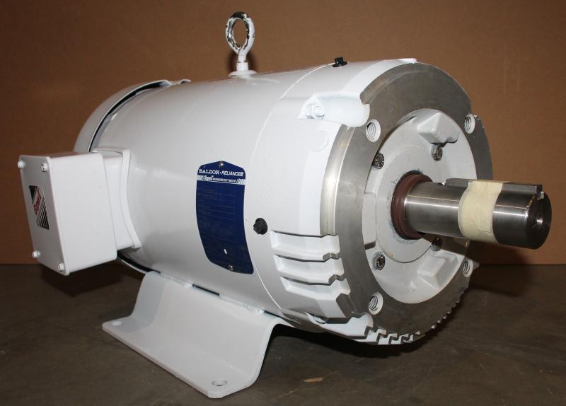 Baldor Reliance Super-E Washdown Duty Motor, CEWDM23994T, 15HP