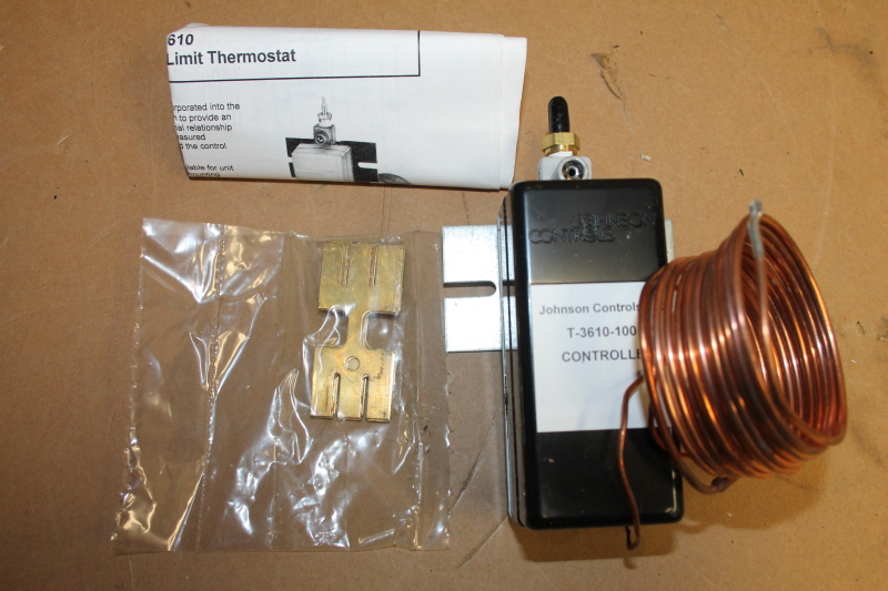 Johnson Controls T-3610-1001 Pneumatic Low Limit Controller, 0-25PSI