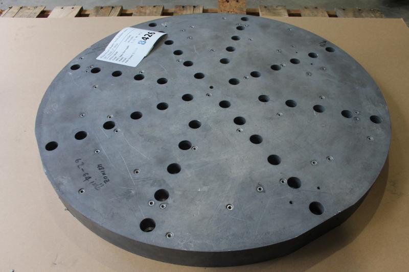 Magnesium shaker head adapter plate, 26