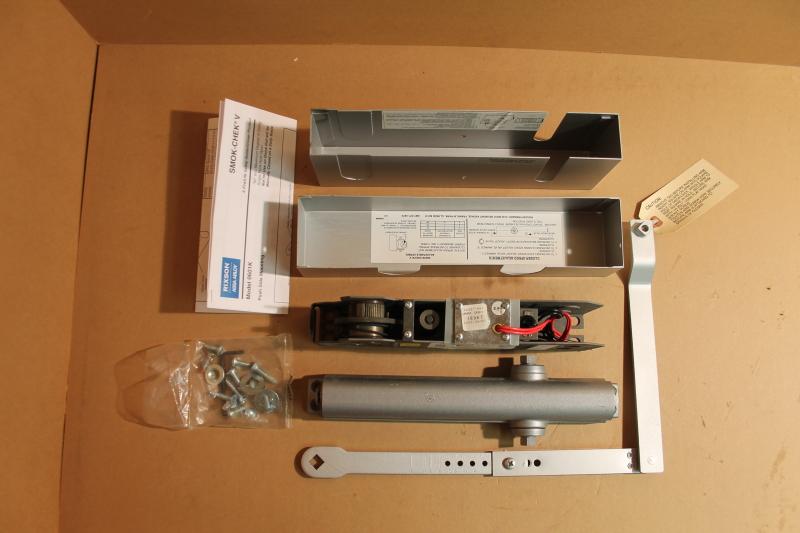 Rixson Smok-Chek V Electrified Door Closer/Holder, Model 0601K, 24V AC/DC