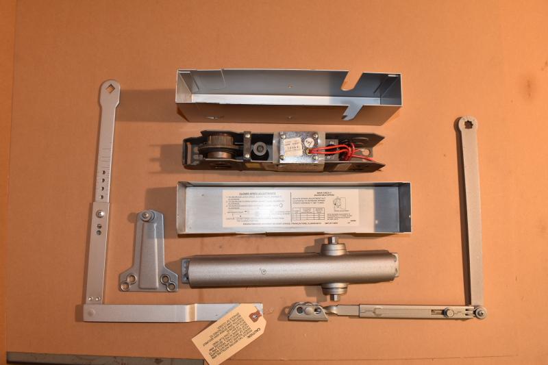 Rixson Smok-Chek V Electrified Door Closer/Holder, Model 0602K, 24V DC/AC
