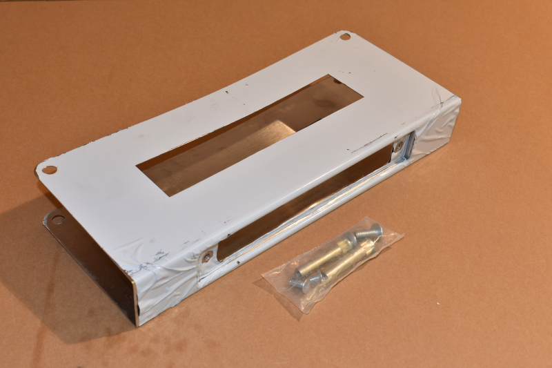 Don-Jo 514-S-CW Door Reinforcer, 5 x 12, 2-3/4 Backset, 1-3/4