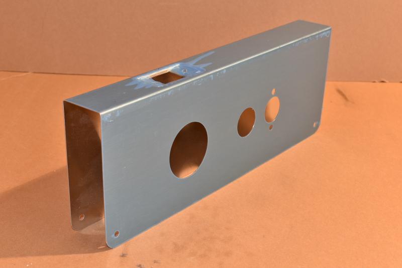 Mag 1000-14S Commercial Door Reinforcer, Satin Stainless Steel