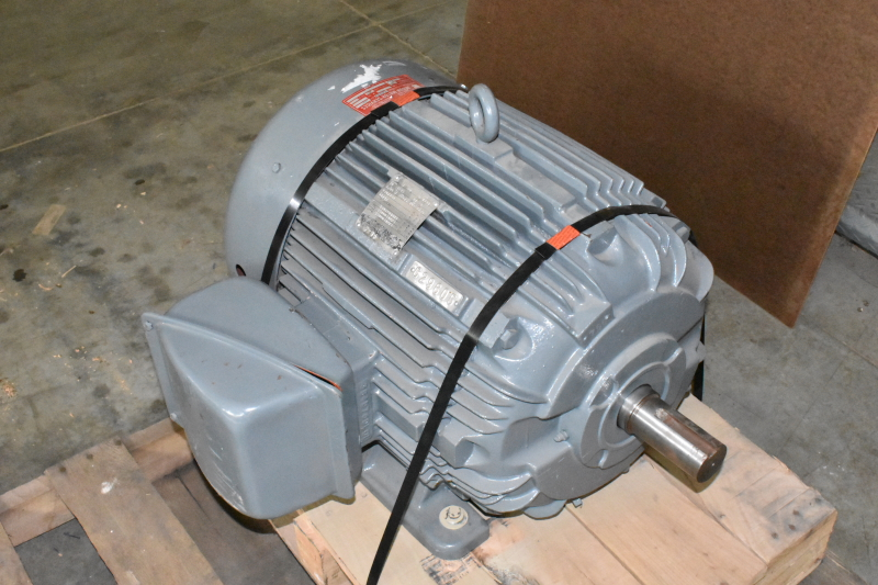 Westinghouse Life-Line TAFC AC Motor, 40 HP, 3 Phase, 230/460V, 60Hz, 3535 RPM