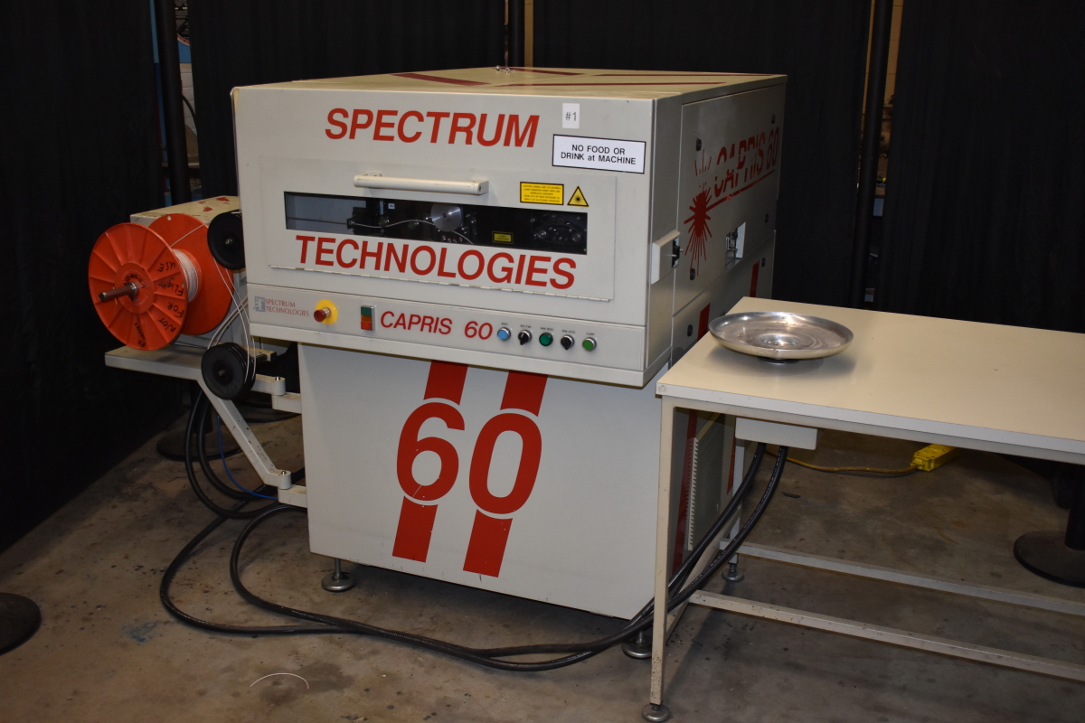 Spectrum Technologies Laser Wire Marker, Capris 60 Classic marking machine