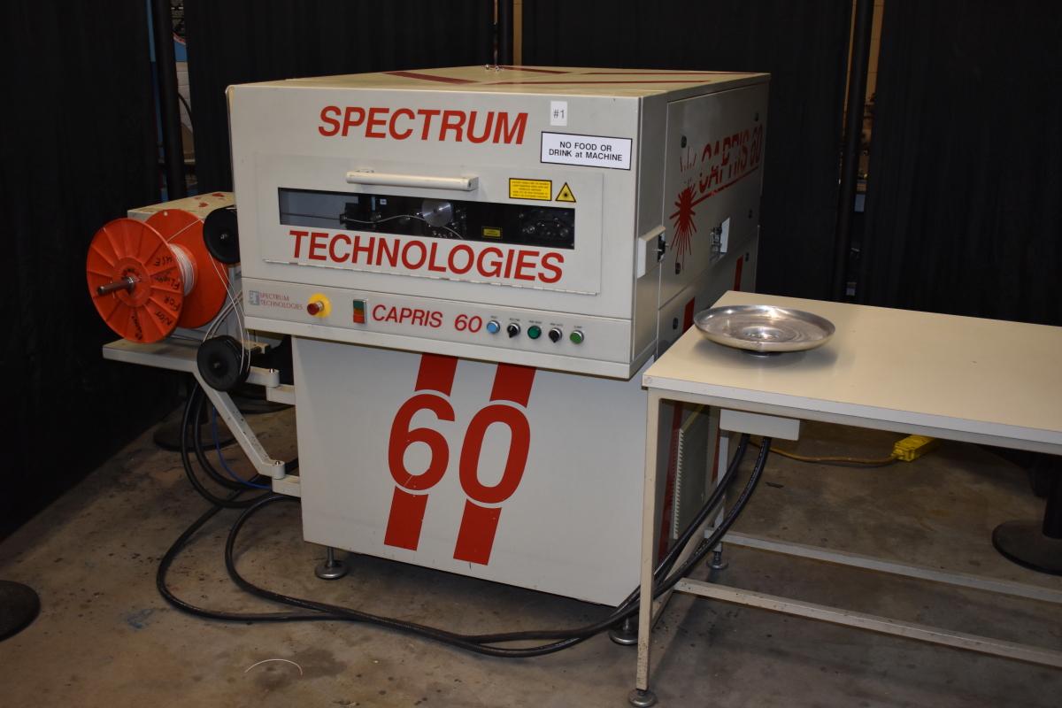 Spectrum Technologies Laser Wire Marker, Capris 60 Classic marking machine