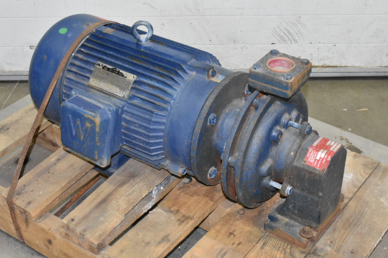 Worldwide Electric WWE10-36-215JM Motor & ShipCo Model P Pump, 10HP, 60GPM, 460V