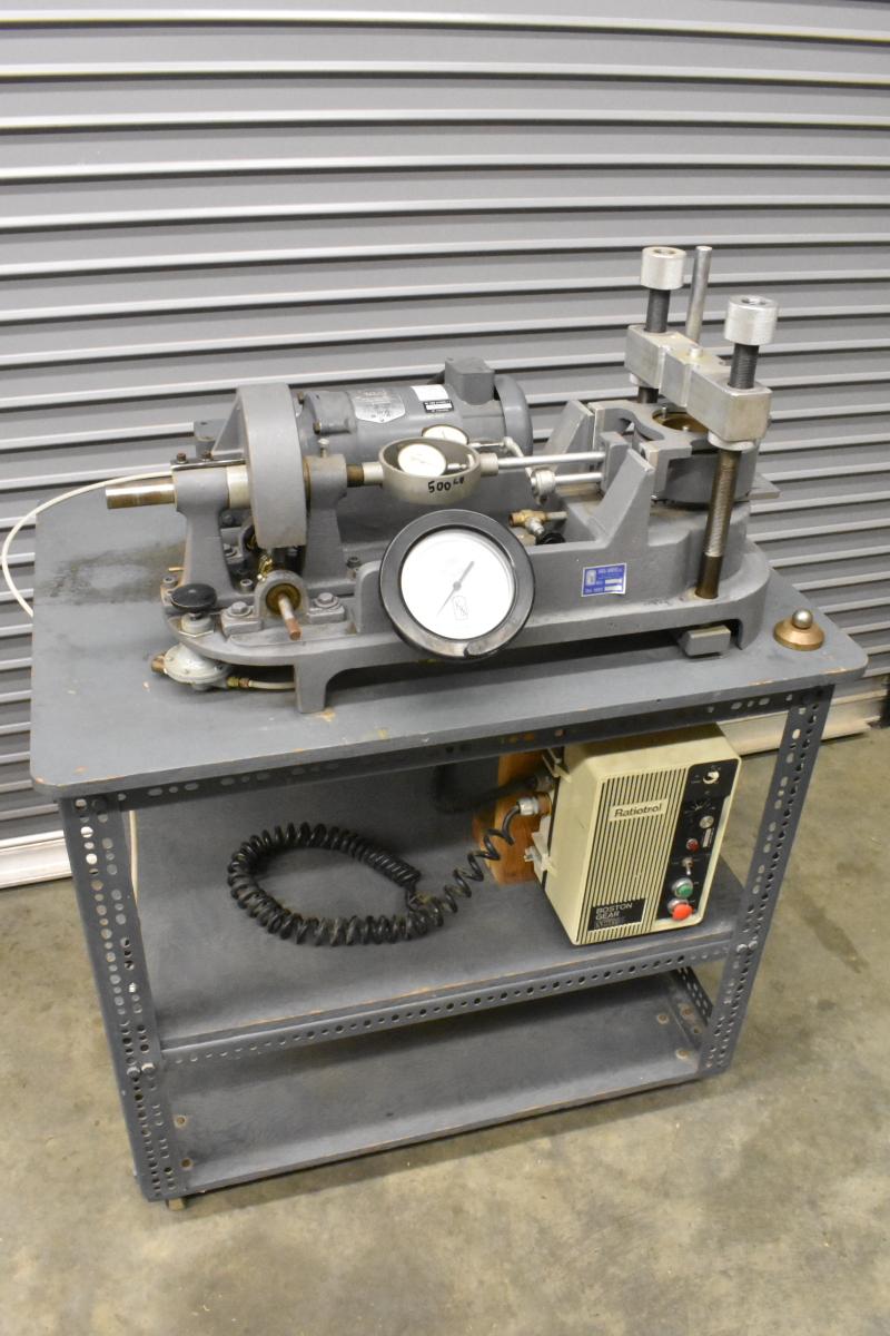 Karol-Warner Model 590, Direct Shear Testing Machine, MANY PROVING RINGS
