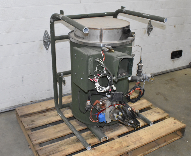 Water Heater, Jet Fuel/Diesel/Kerosene/Gas, For Custom Washer, 700K BTU