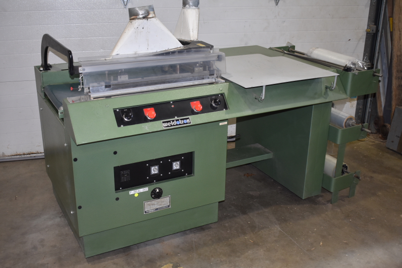 Weldotron L sealer 5202 semi-automatic FULLY REBUILT, Very clean