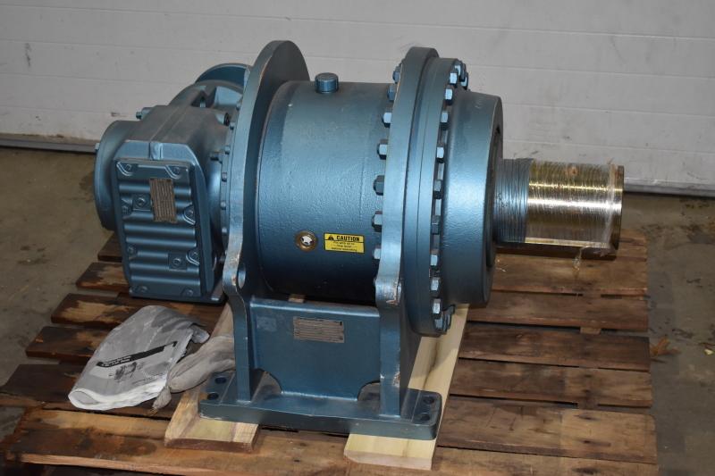 planetary gear reducer 4544:1 ratio SEW Eurodrive P021KF87AM182