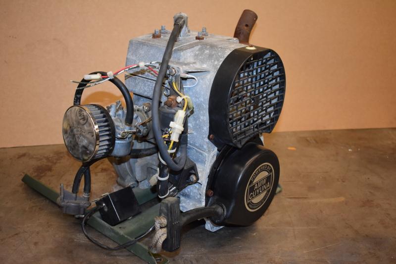 Cuyuna 2SI Two stroke international Engine single cylinder 215cc