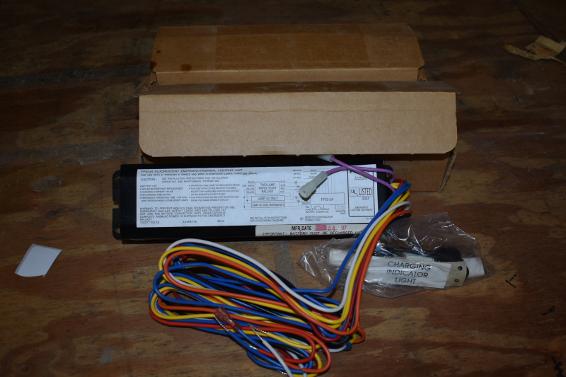 Emergi-Lite 120 VOLT ballast FPSI-24 LOT OF TWO