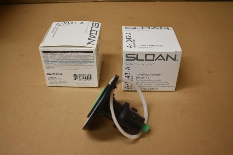 Sloan urinal flushometer repair kit A-1043-A