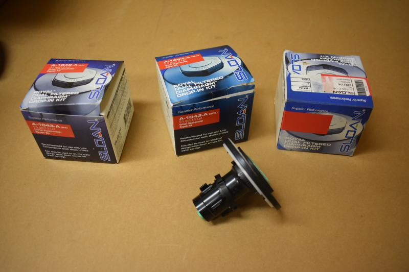 Sloan Royal urinal thermometer repair kit A-1043-A LOT OF THREE