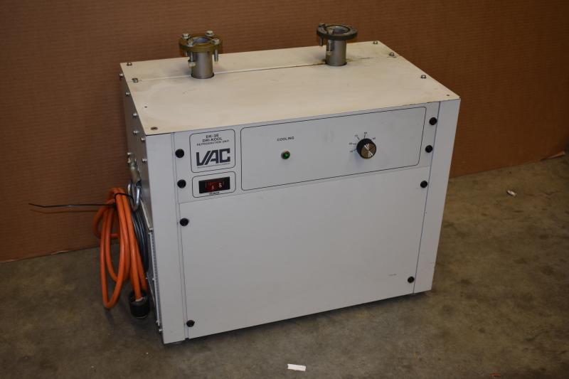 Vacuum Atmospheres DRI-KOOL DK-3E External Cooler for Glove box