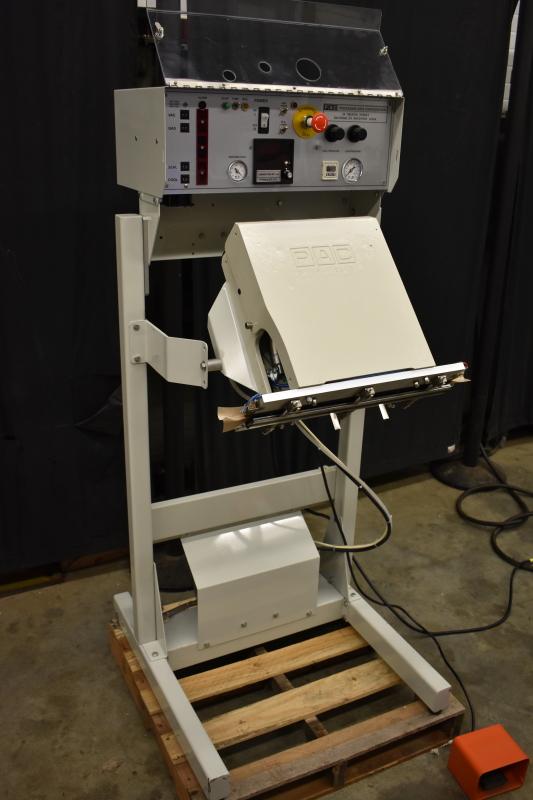Vacuum impulse sealer Validatable MED VAC GA18 TESTED, TEST VID