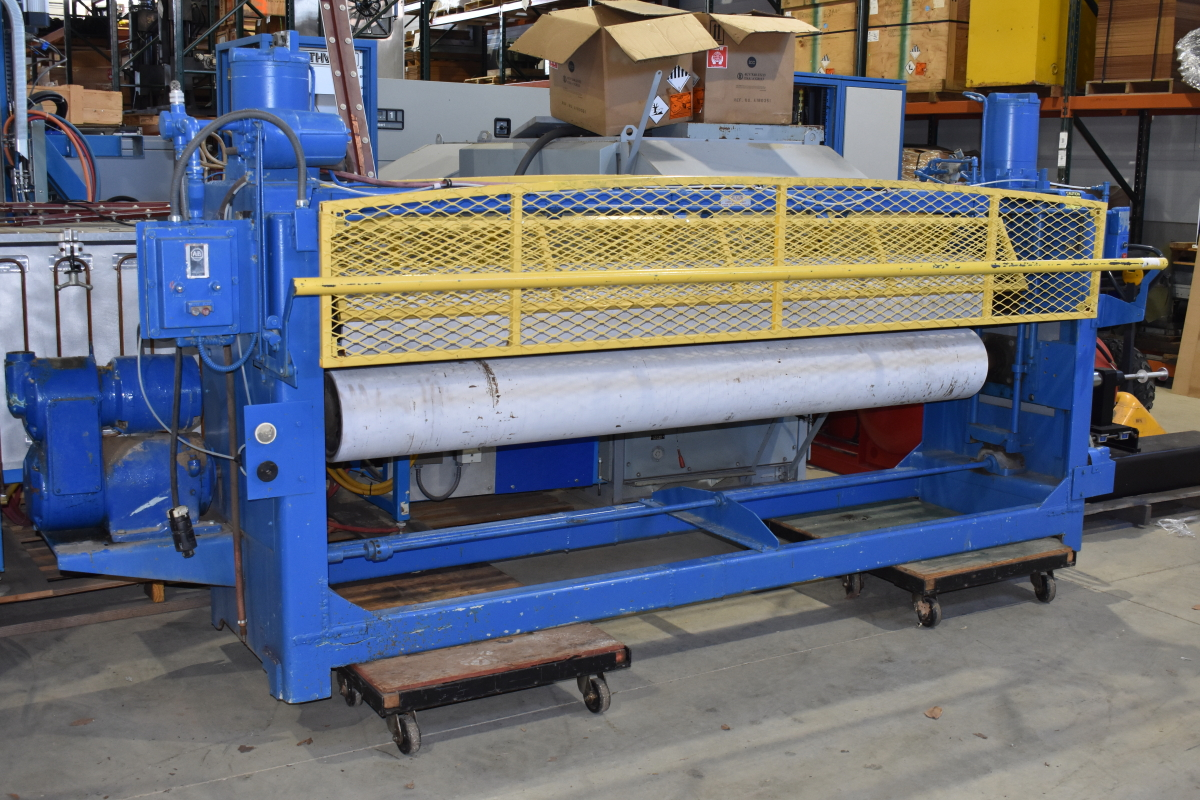 Black Brothers Roller pneumatic rotary press RPP 1175-103