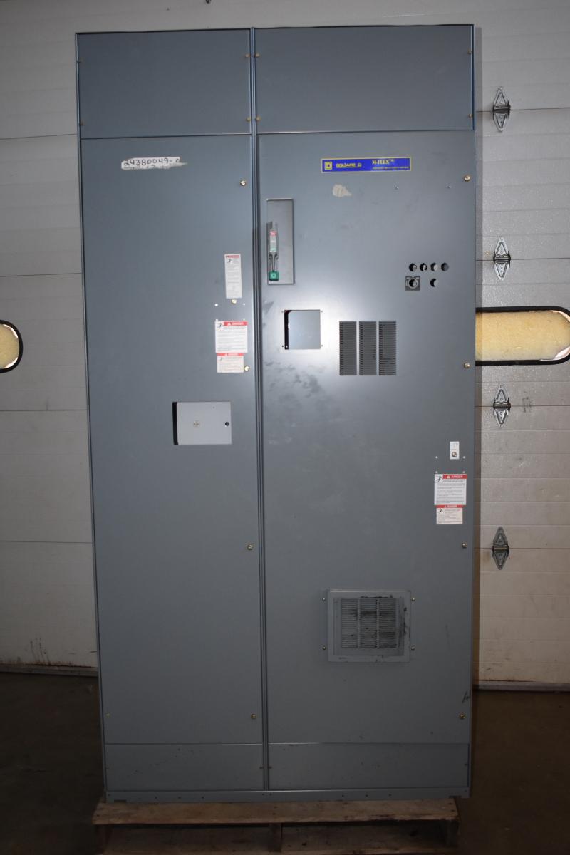 Square D M-Flex empty electrical enclosure MCC Class 8998