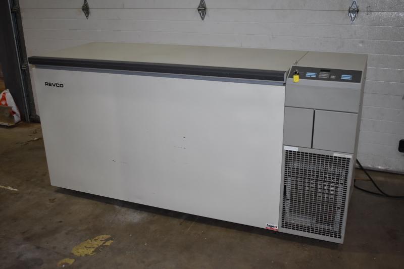 Ultralow Chest Freezer, Revco ULT1790-5-A  -80 Deg 17 cu ft TESTED
