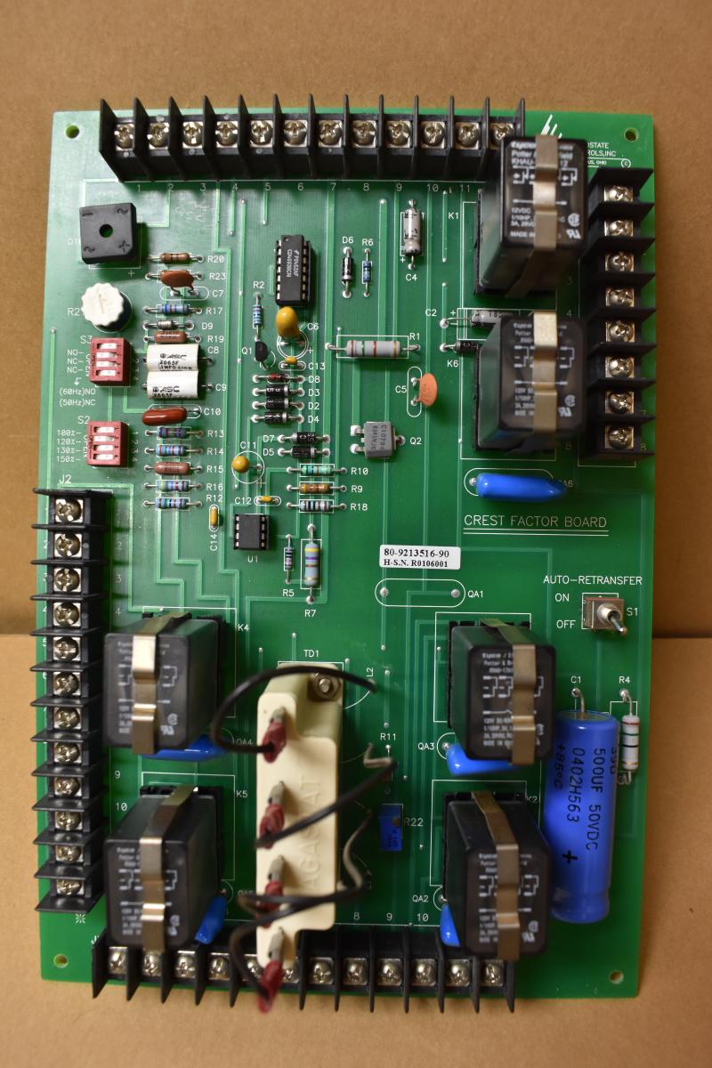 SCI Solid State Ametek 70-411357-90 Rev-C Crest Factor Board 80-9213516-90