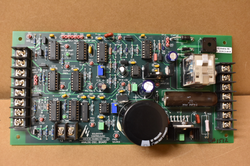 Analog OSC. board 80-9230404-90, Solid State Controls Inc.