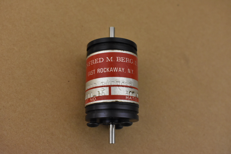 Speed reducer Winfred M Berg. RX11-16, Ratio 300 to 1
