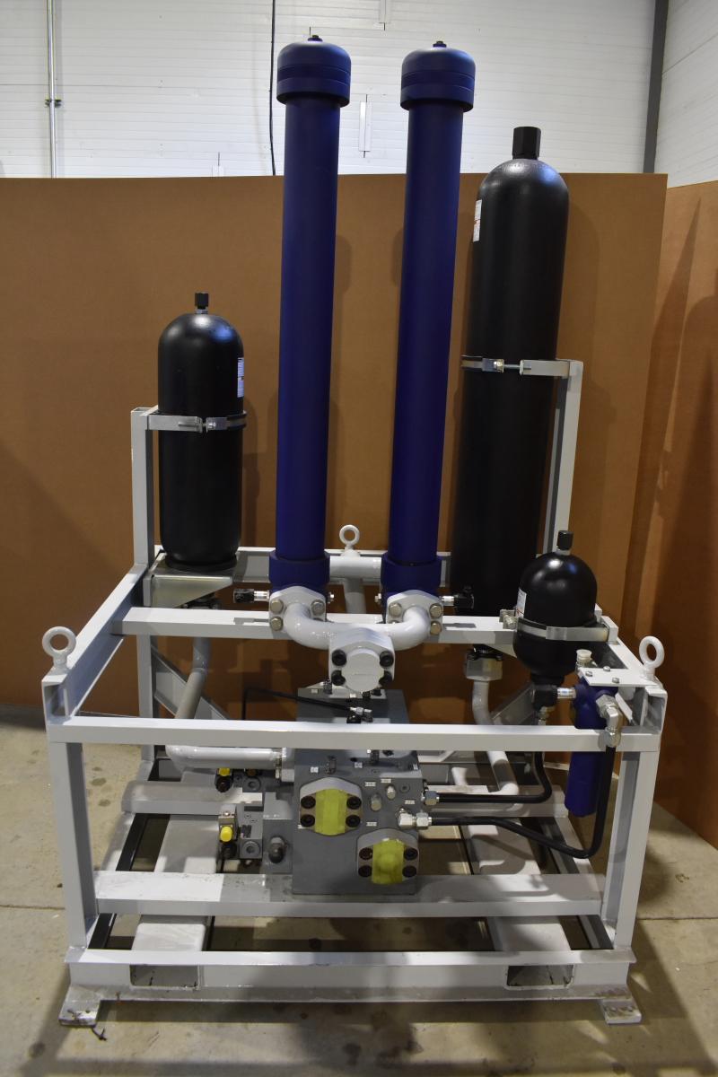 Accumulator Hydraulic Supply Assy, Michigan Custom Machines Inc.